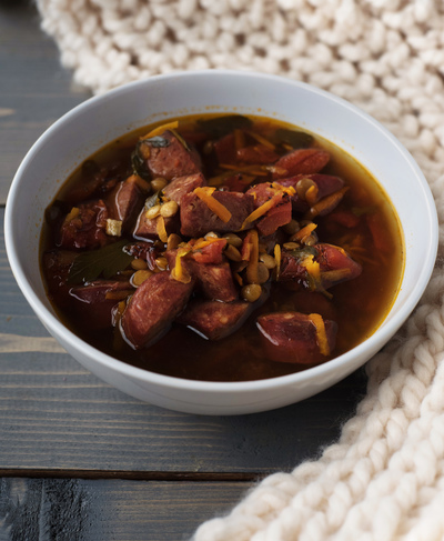 German Kielbasa Soup