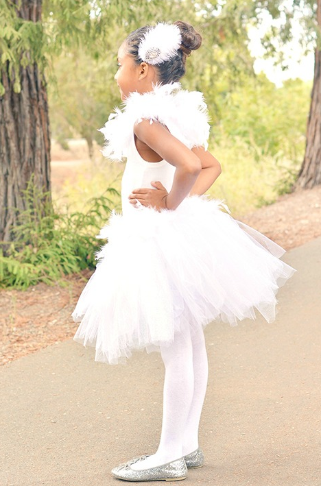White Swan Princess Diy Costume