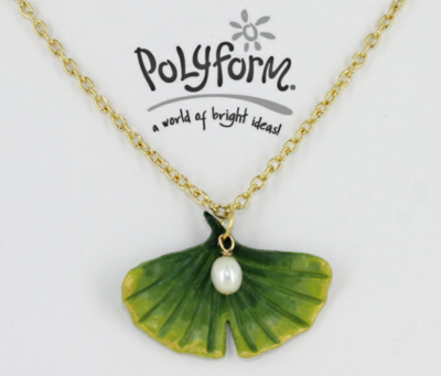 Ginkgo Leaf Pearl DIY Necklace