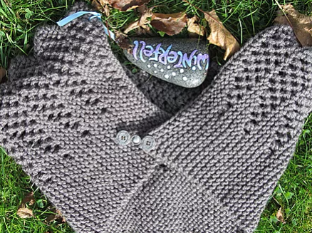 Game of Thrones Knit Shawl and Hand Warmer Pattern