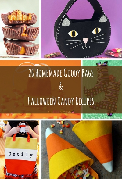 26 Homemade Goody Bags and Halloween Candy Recipes