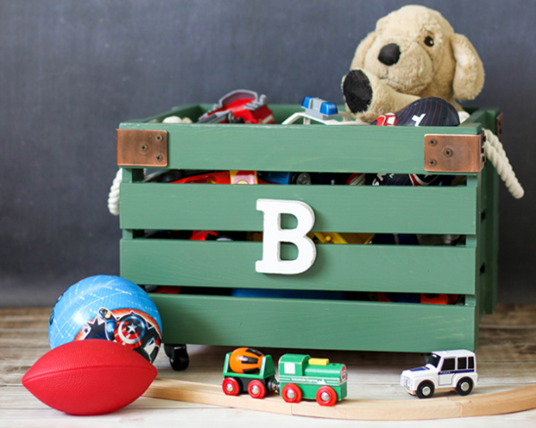 DIY Wooden Toy Box
