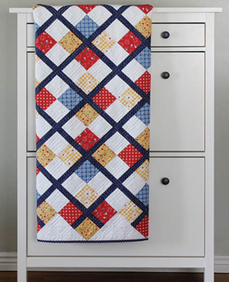 Preppy Patchy Argyle Quilt