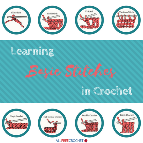 Learning Basic Stitches in Crochet