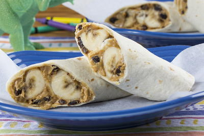 Peanut Butter  Banana Wrap