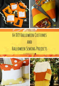 64 DIY Halloween Costumes and Halloween Sewing Projects