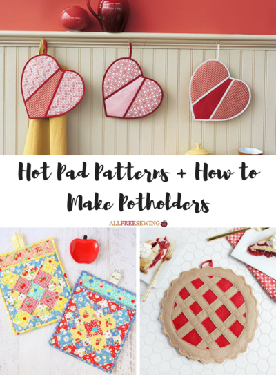 Hot Pad Patterns And How To Make Potholders