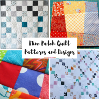 30+ Free Nine Patch Quilt Patterns + Other Nine Patch Designs
