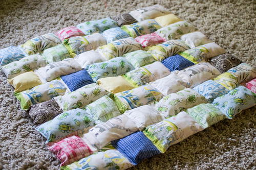Pillowy Puff Quilt Tutorial
