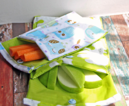 Kid Friendly DIY Reusable Snack Bags