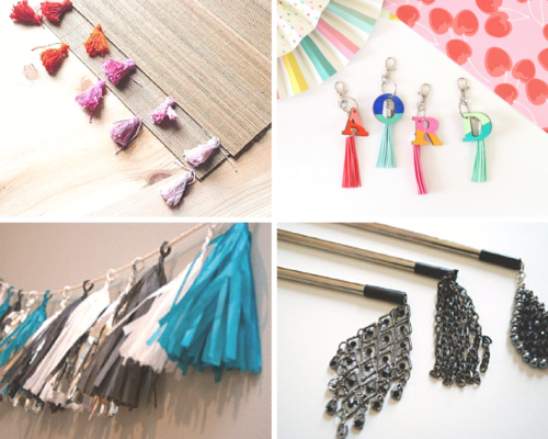 No Hassle Tassels How to Make a Tassel 4 Easy Ways