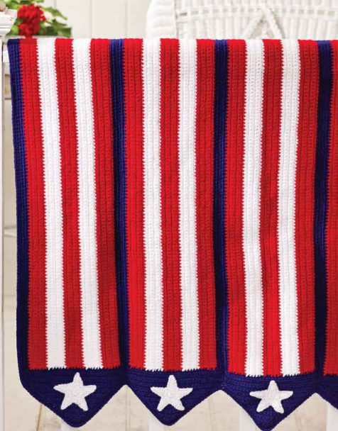 Stars and Stripes Afghan