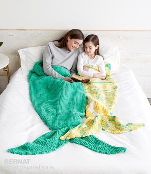 Mermaid Blanket Pattern