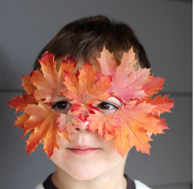 Fall Bandit Leaf Mask