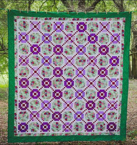 Sister Rachaels Chain Linked Beauties Quilt