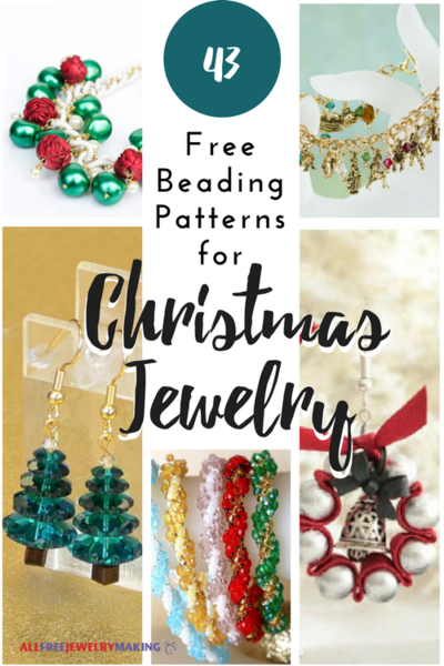 Christmas Jewelry.43 Free Beading Patterns For Christmas Jewelry