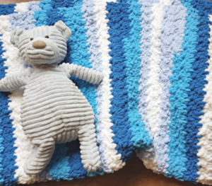 Little Couch Potato Afghan Pattern