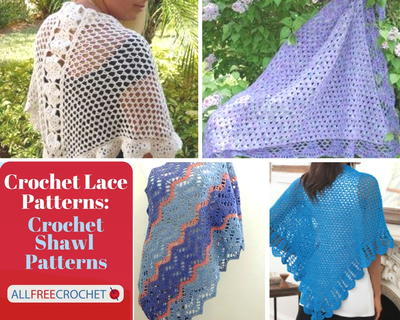 Crochet Lace Patterns 31 Crochet Shawl Patterns