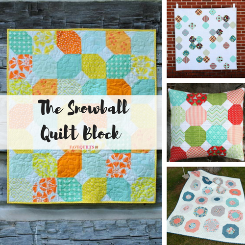 All About the Snowball Quilt Block