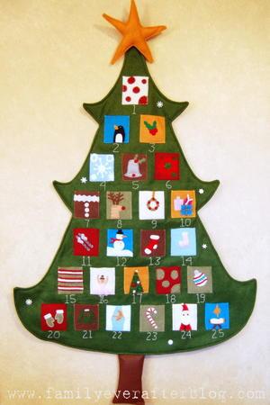 Amazing Pottery Barn Inspired Christmas Tree Advent Calendar Download Free Architecture Designs Scobabritishbridgeorg
