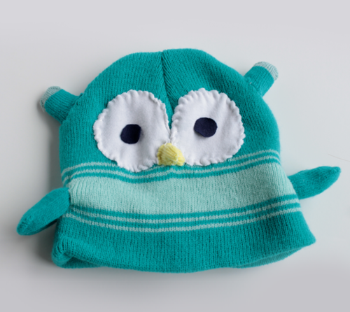Easy Sew Lovable Little Owl Hat