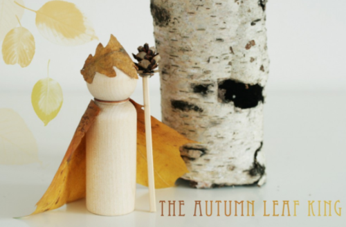 The Autumn Leaf King DIY Toy