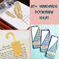 20+ Handmade Bookmark Ideas