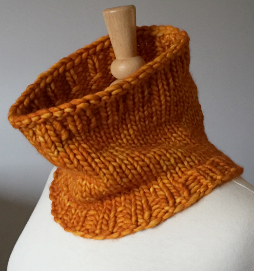 Fighting Frost Knit Cowl Pattern