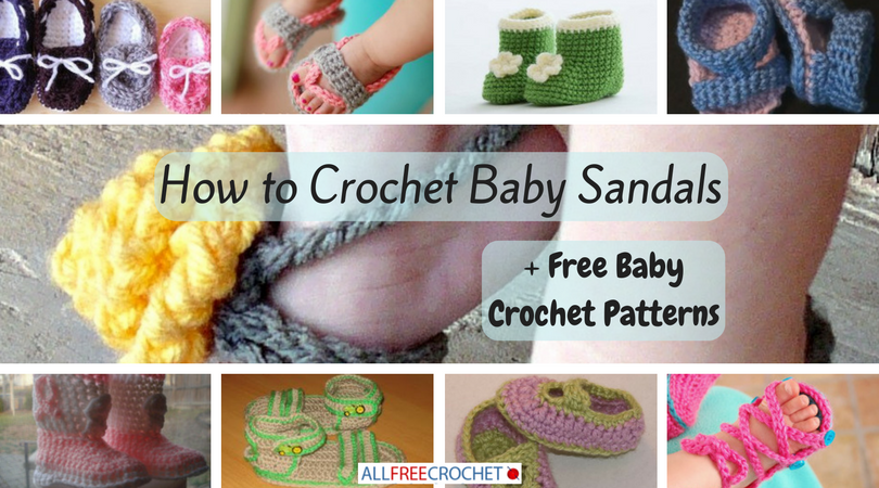 a368ee081 How To Make Crochet Baby Shoes Step By - Style Guru  Fashion