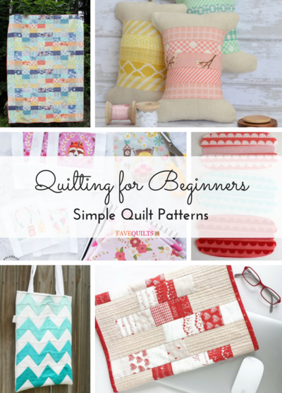 Quilting for Beginners 21 Simple Quilt Patterns