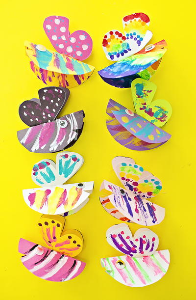 Magical Transforming Paper Butterfly Project