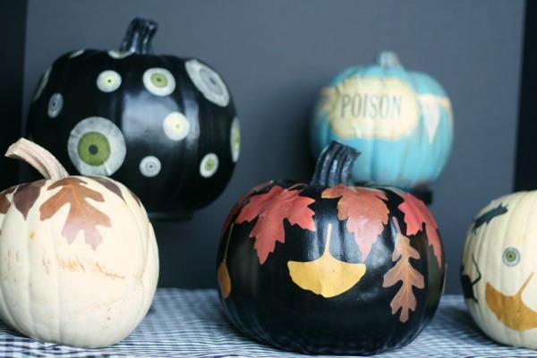 Decoupage Pumpkin Halloween Ideas Allfreeholidaycrafts Com