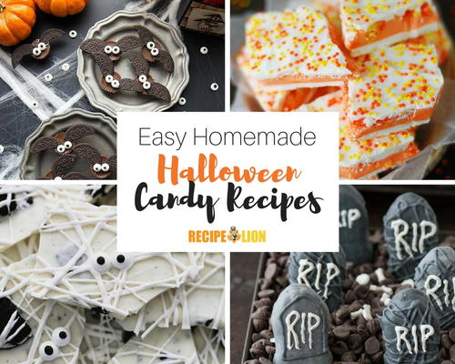 Spooky Desserts: 22 Easy Candy Recipes for Halloween