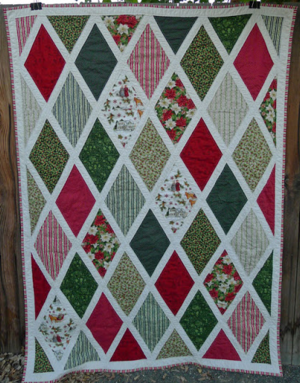 Anne of Green Gables Inspired Christmas Quilt