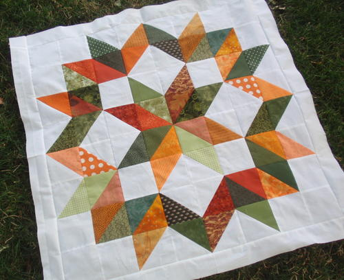 Festive Fall Baby Quilt