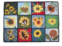 The Sunflower Rug