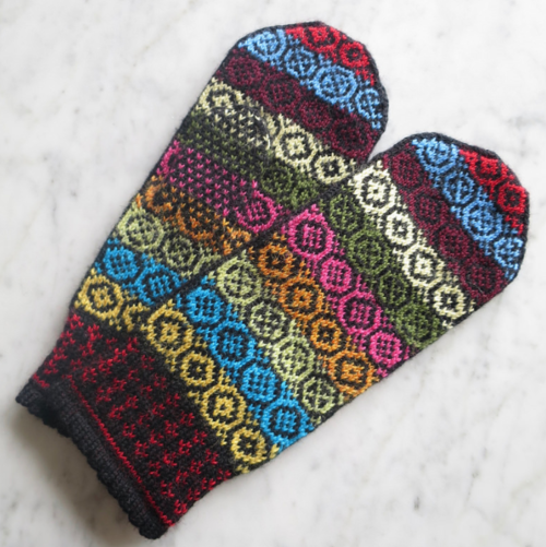Yarn Stash Mitten Pattern