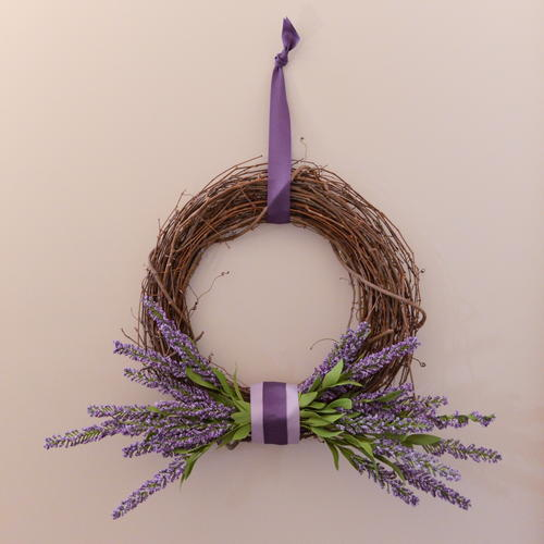 DIY 5-Minute Rustic Wreath