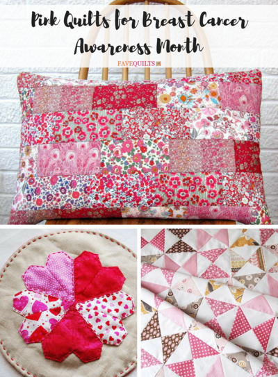 Think Pink 25 Pink Quilts For Breast Cancer Awareness