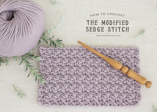 Crochet The Modified Sedge Stitch