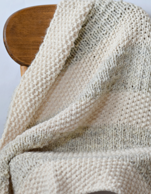 Easy Heirloom Knit Blanket Pattern AllFreeKnitting.com