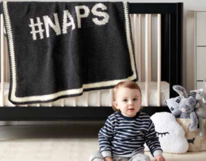 Love Taking Naps Baby Afghan