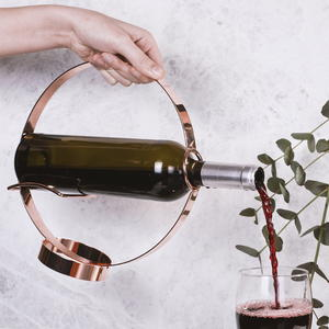 Wine Bottle Holder and Pourer Giveaway