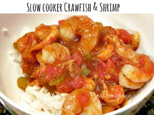 Slow Cooker Crawfish and Shrimp