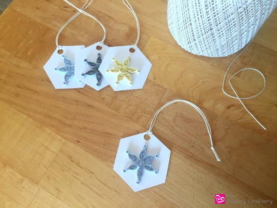 Chilly Quilled Snowflake Gift Tags