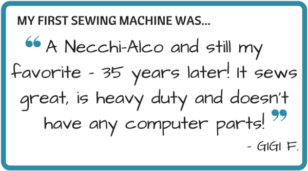 My First Sewing Machine