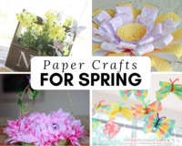 31 Paper Craft Ideas for Spring