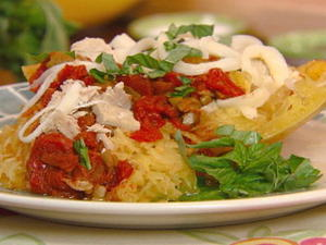 Stuffed Spaghetti Squash with Tuna