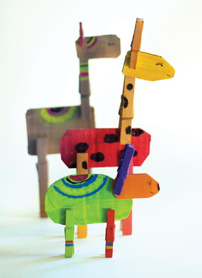Fun Clothespin Animal Craft
