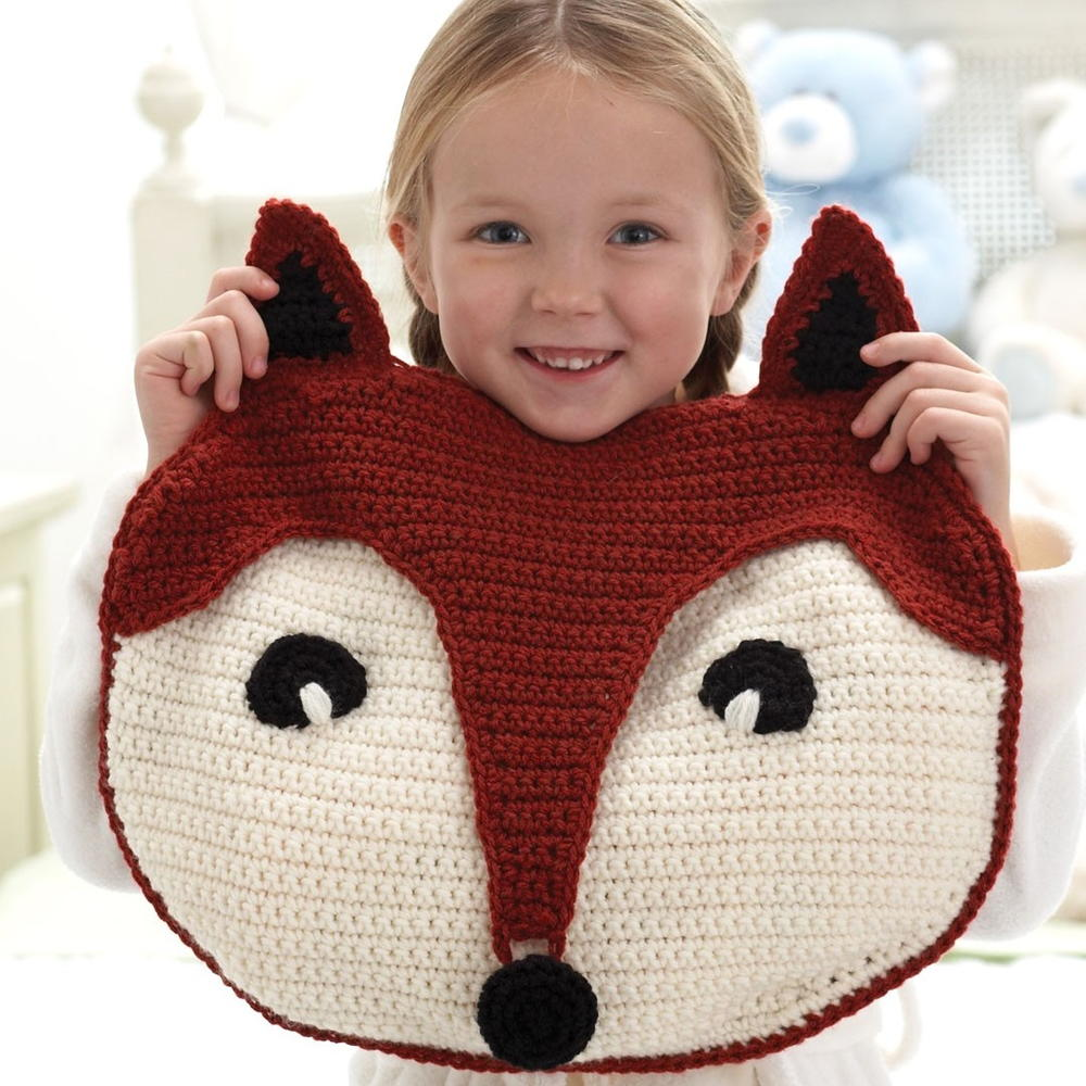 Fantastic Fox Pillow Allfreecrochet Com